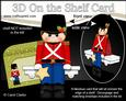 3D on the Shelf Card Kit - Little Christmas Toy Soldier