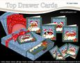 3D Cute Christmas Love Top Drawer Cards Bumper Kit