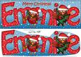 Large Dl Christmas Emmie Robin 3D Decoupage
