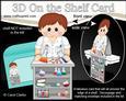 3D on the Shelf Card Kit - Little Boy Scientist Erik