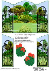 Garden Gatefold Pop-up