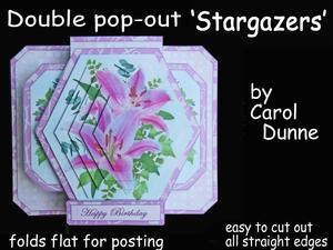 3D Double Pop-out - Stargazers