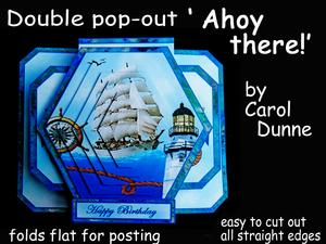 3D Double Pop-out - Ahoy There!