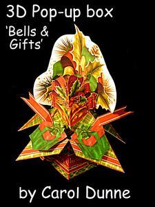 3D Pop-up Box- Christmas Bells