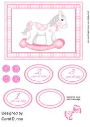 Rocking Horse Pink 1-3 Years