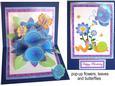 Blue Pop-up Bouquet Kit