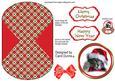Christmas Kitten Wobble Card