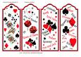 Bookmarks - Playing Cards