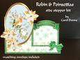 Robin and Poinsettias Side Stepper Kit
