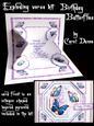 Exploding Verse Kit - Birthday Butterflies (blue)