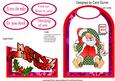 Cutaway- Sleeping Santa