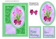 Tulips on Green Quick Card