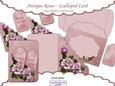 Antique Rose - Scalloped Card Kit