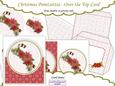 Christmas Pointsettia - Over the Top Card Kit