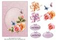 Roses for You - Topper with Decoupage