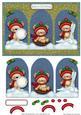 Christmas Bears - Triptych Card
