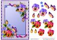Card Front - Floral 4