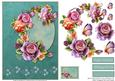 Card Front - English Roses 1