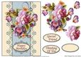 Card Front - English Roses 2