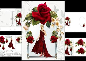 Gatsby Glamour with Roses Mini Kit 2