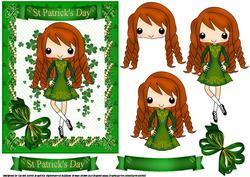 St Patricks Day Dancer