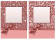 Luxurious A5 Floral & Butterfly Card Fronts with Bow