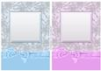 Deluxe A5 Floral Card Fronts with Bow