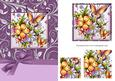 Floral Butterfly Pyramage Card