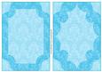 Damask Card Fronts