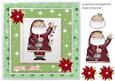 Santa Card Front