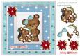 Christmas Bear Card Front