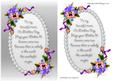 Mothers Day Pansies Card Front