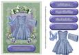 Ladies Floral and Lace Card Front