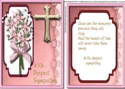 Sympathy with Verse Pink,