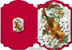 Print, Cut, and Fold, Beautiful Christmas Music ,