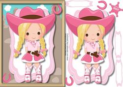 Lovely Little Birthday Cowgirl,