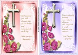 Two Lovely Sympathy Toppers,