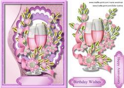 Anniversary or Birthday Wishes.