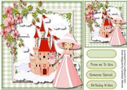 Beautiful Princess in Pink ,
