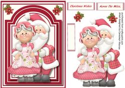 Mr & Mrs Santa Clause,