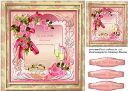 Beautiful Anniversary Wishes ,