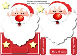 Over Thge Edge , Jolly Santa ,