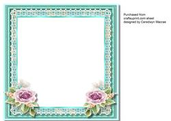 Tiffany's Rose Incert , Blank ,