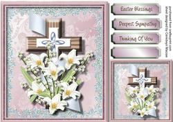 Easter or Sympathy Blessings 2,