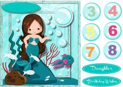 Lovely Birthday Mermaid 2,