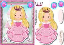 Princess Rose in Her Crown ,