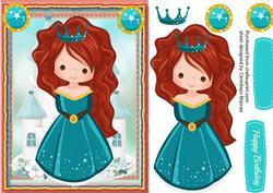 Princess Tia with Her Crown