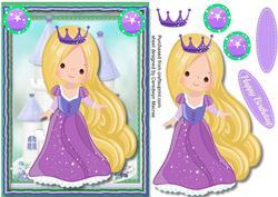 Princess Lea in Her Crown ,