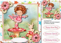 Lovely Toadstool Dancing Princess,