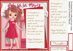 Birthday Wishes Special Daughter,